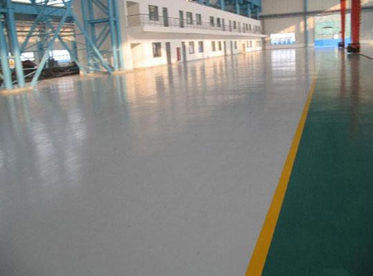 沧州地坪厂家讲解普通油漆与环氧地坪漆的区别有哪些