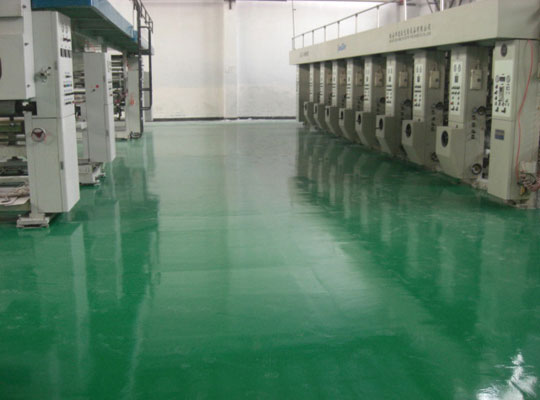 上海地坪厂家讲解环氧地坪漆施工地面潮湿怎么处理?