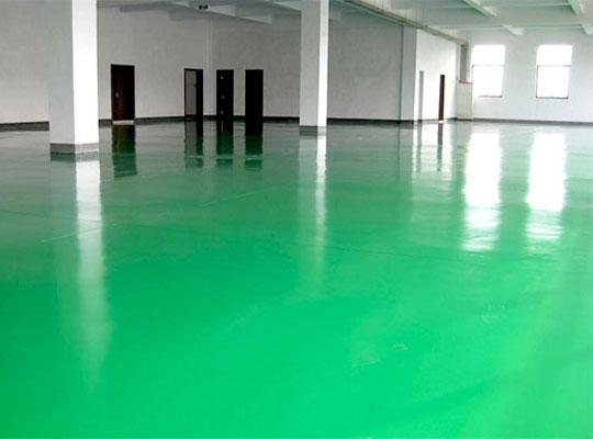 说说环氧地坪漆施工地面潮湿怎么处理?