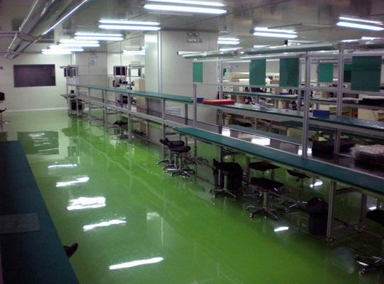 如何选择出高质量的环氧防静电自流平?兰州地坪厂家为您解析: