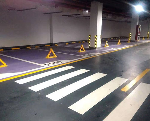 停车场金刚砂硬化地坪