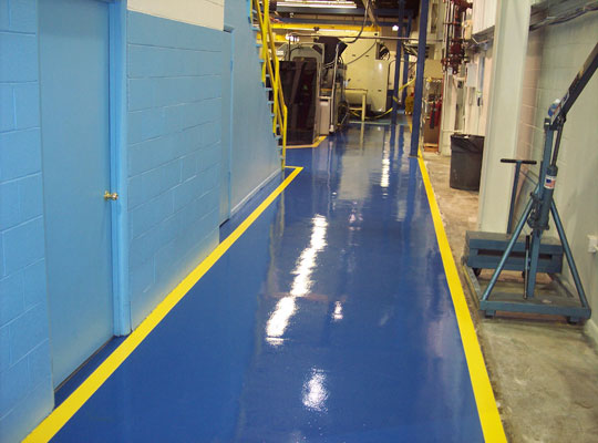 水性环氧树脂厚浆型地坪