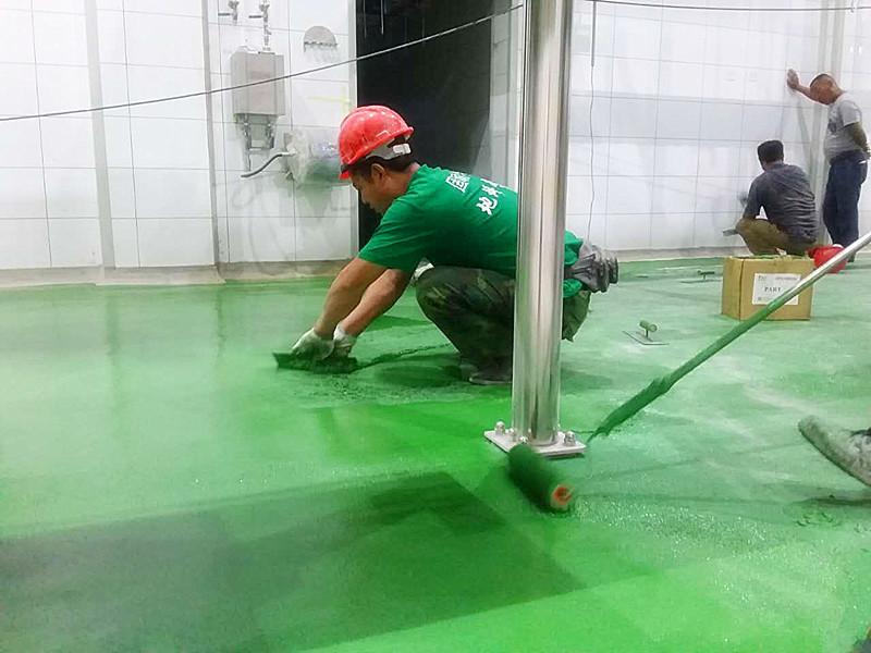 聚氨酯砂浆地坪施工工艺之混凝土基层处理