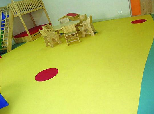 幼兒園PVC地板
