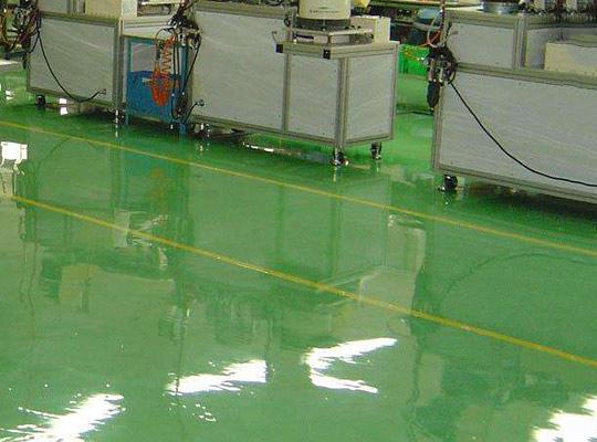 环氧自流平地坪漆的常见做法
