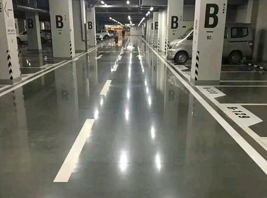 停车场混凝土密封固化剂地坪