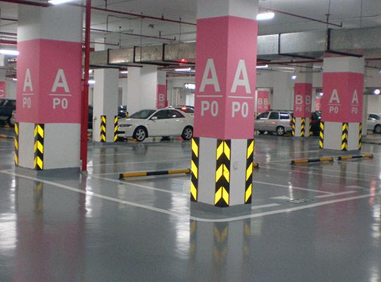 停车场辅助设施