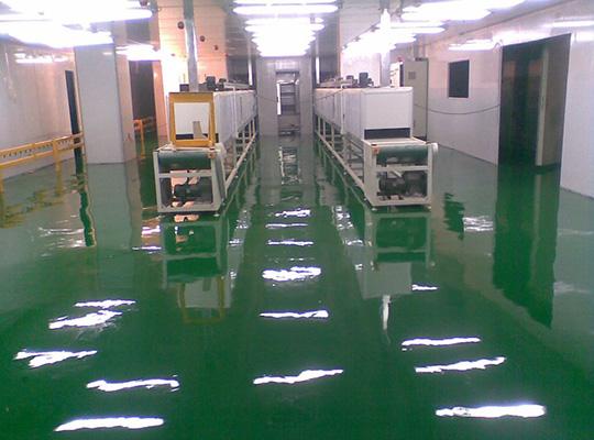 西安地坪厂家车间环氧树脂地坪漆施工工艺介绍都有哪些