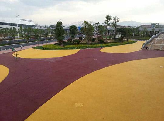 彩色透水地坪的实际应用中的七大优点
