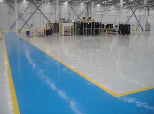 基层缺陷可能给地坪漆涂装的质量