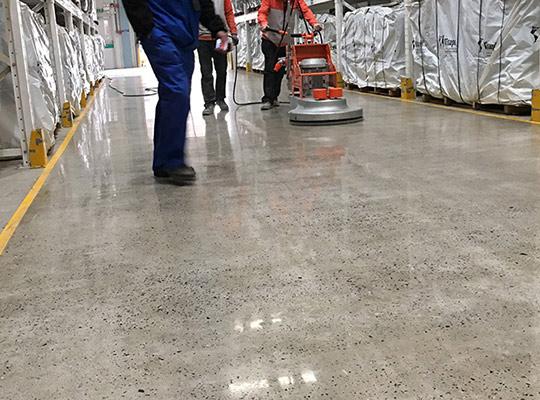 混凝土密封固化剂地坪施工工艺