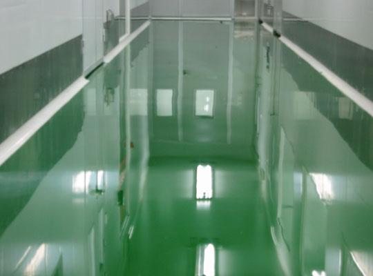 环氧地坪跨区域施工涂料该如何存储