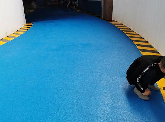 停车场水性聚氨酯超耐磨地坪
