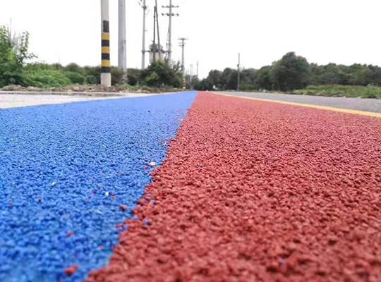 彩色陶瓷颗粒路面地坪